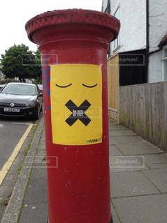 海外,赤,ポスト,イギリス,ロンドン,ポスター,歩道,海外旅行,英国,選挙,投票日