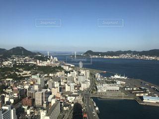 海峡ゆめタワーからの景色の写真・画像素材[773248]