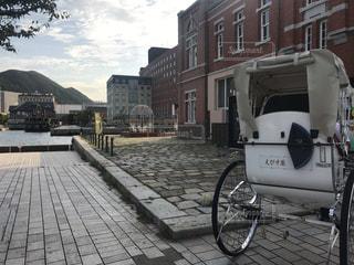 門司港レトロの人力車の写真・画像素材[773252]