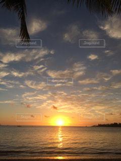 海,空,夕日,太陽,ビーチ,夕暮れ,海岸,光,夕陽,ニューカレドニア,サンセット