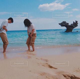 ビーチの人々 のグループの写真・画像素材[768594]