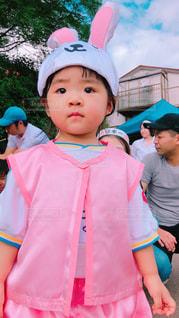 帽子をかぶった小さな女の子 - No.848194