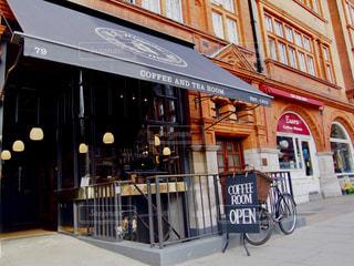 カフェ,イギリス,ロンドン,cafe,コーヒーブレイク,カフェタイム,H R Higgins (Coffee-Man) Ltd