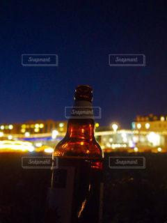 夜の街の景色の写真・画像素材[928396]