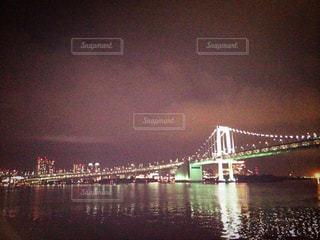 東京観光 レインボーブリッジの写真・画像素材[581685]