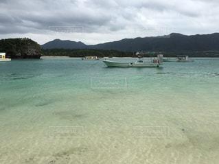 海,夏,船,釣り