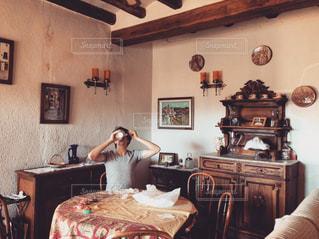 インテリア,棚,スペイン,朝ごはん,アンティークハウス