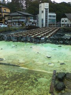 草津・湯畑の写真・画像素材[798029]