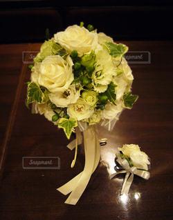 結婚式当日の写真・画像素材[825537]
