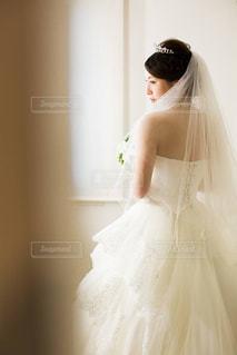 ウェディング ドレスの人の写真・画像素材[1231309]
