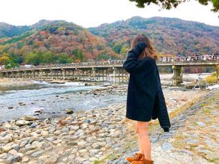 渡月橋の写真・画像素材[922156]