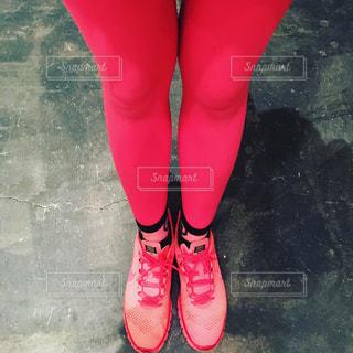 ピンクのタイツの写真・画像素材[855745]