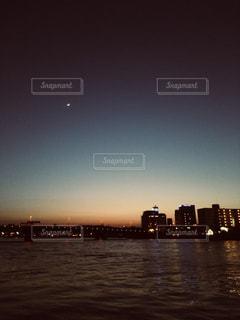 夜の始まりの写真・画像素材[1246379]