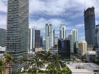 都市の高層ビルの写真・画像素材[1001995]