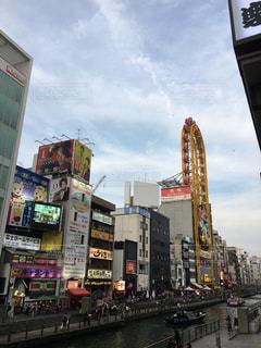 都市の高層ビルの写真・画像素材[1247892]