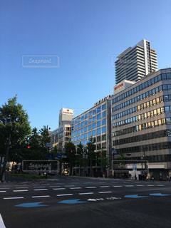 都市の高層ビルの写真・画像素材[1313156]