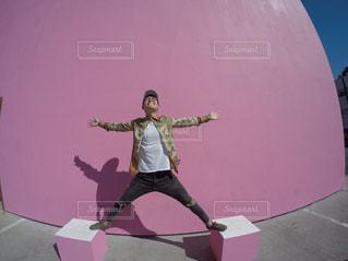 ピンク,LA,ロサンゼルス,ピンク色,pink,メルローズアベニュー