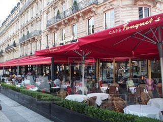 カフェ,海外,ヨーロッパ,フランス,パリ,老舗,カフェフーケッツ