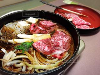 食事,肉,和食,おいしい,外食,すき焼き
