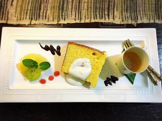 ケーキ,デザート,レストラン,おいしい,タイ料理,チアシード,マンゴープリン