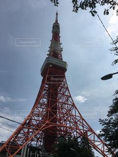 東京タワーの写真・画像素材[586913]