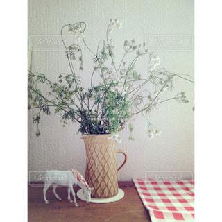 インテリア,花,花瓶,馬,置物