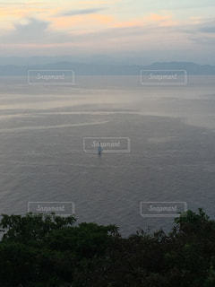 水の大きな体の写真・画像素材[756643]
