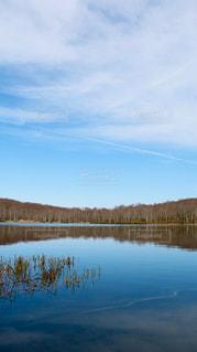水の大きな体の写真・画像素材[1111921]