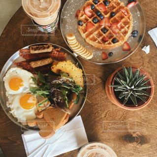 Instagramで89イイネ!がついたハワイの朝ごはんの写真・画像素材[817071]