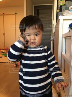 スマホ,子供,可愛い,1歳,携帯
