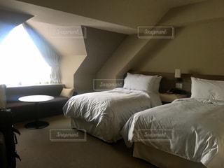 インテリア,ホテル,寝室,ベッド