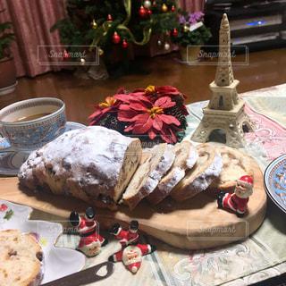 インテリア,リビング,クリスマス,料理,シュトーレン