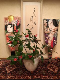 インテリア,正月,玄関飾り