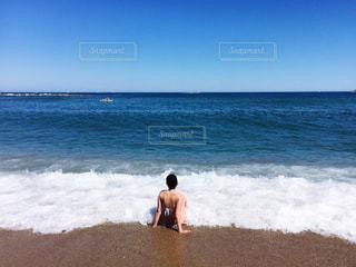 海,夏,海外,水着,旅行,スペイン