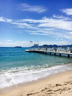 海,夏,海外,ビーチ,旅行,フランス
