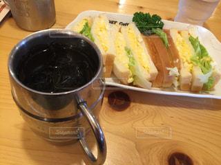カフェ,コーヒー,サンドイッチ