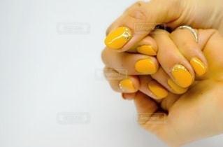 winter nailの写真・画像素材[1746213]
