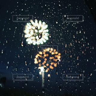 空,雨,花火,花火大会,okinawa,Fireworks