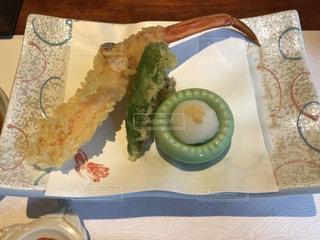 屋内,室内,旅行,料理,和食,蟹,贅沢,天ぷら