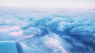 白,飛行機,雪山,カナダ,ホワイト