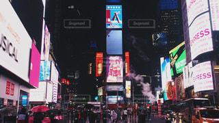 夜,夜景,雨,アメリカ,観光,旅行,旅,タイムズスクエア