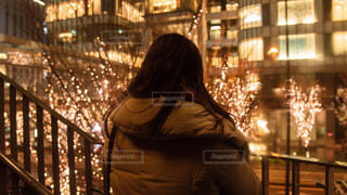 女性,1人,イルミネーション,アンバサダー,グランフロント大阪,シャンパンゴールド