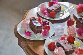 チョコケーキの写真・画像素材[2971405]