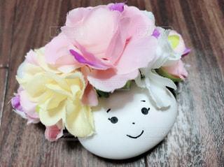 近くの花のアップの写真・画像素材[1187812]