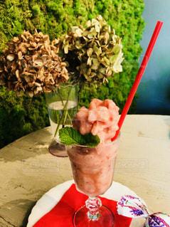 カフェ,ピンク,美味しい,スムージー,桃色,pink,おしゃれ,ミックスフルーツ
