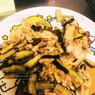 食べ物,秋,おかず,がっつり,食欲,krm,茄子と豚肉味噌炒め