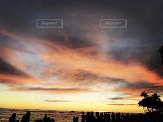 海辺の夕焼け - No.956881