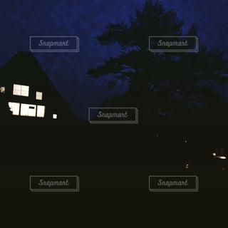 白川郷の夜の写真・画像素材[1779777]