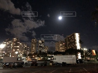 夜景,観光,ハワイ,海外旅行