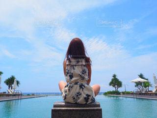 サイプレスリゾート久米島のインフィニティプール お昼ver - No.1194982